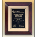 P4270 Cherry finish frame plaque